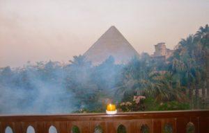 Vista piramide in antichità