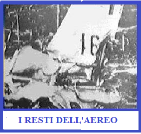 Caso Mantel - resti aereo