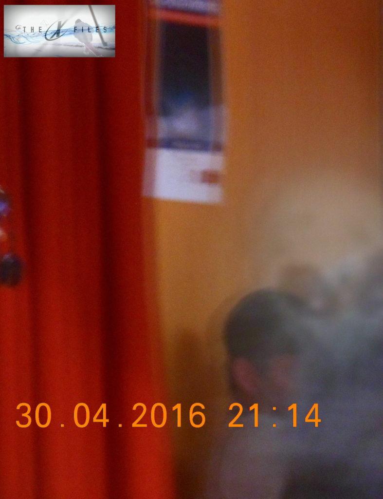 Fotografia scattata durante una conferenza a Chiesa in valmalenco