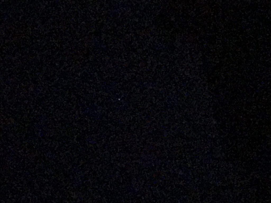 Avvistamento UFO nel deserto di Atacama in Cile  Foto scattata da Andrea Dal Bon con un Iphone