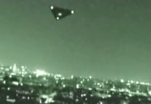 Foto presunta della navicella spaziale Black Mantra