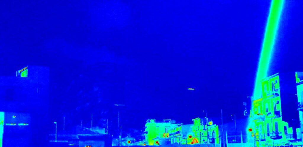 UFO avvistato a Palermo