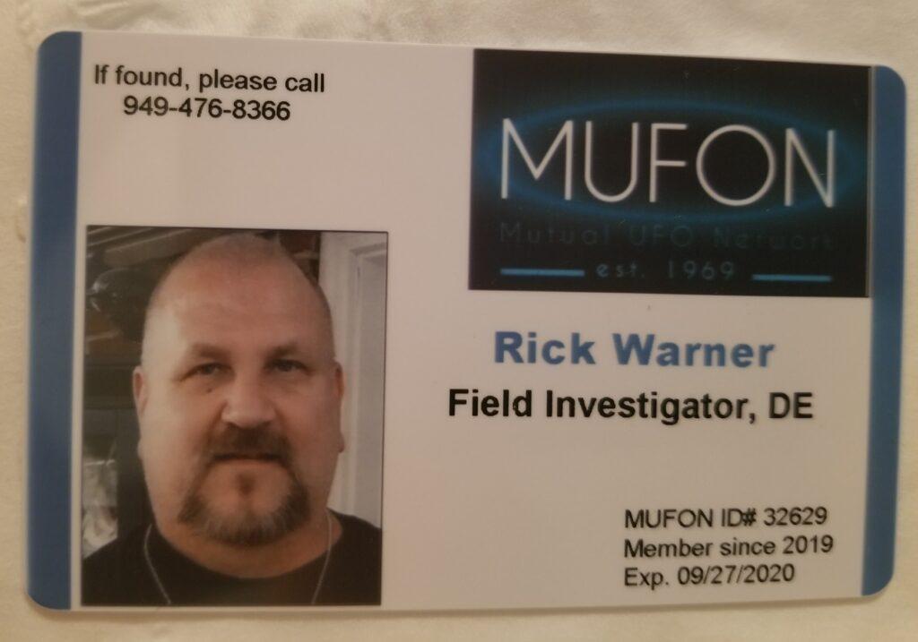 Rick Warner Mufon