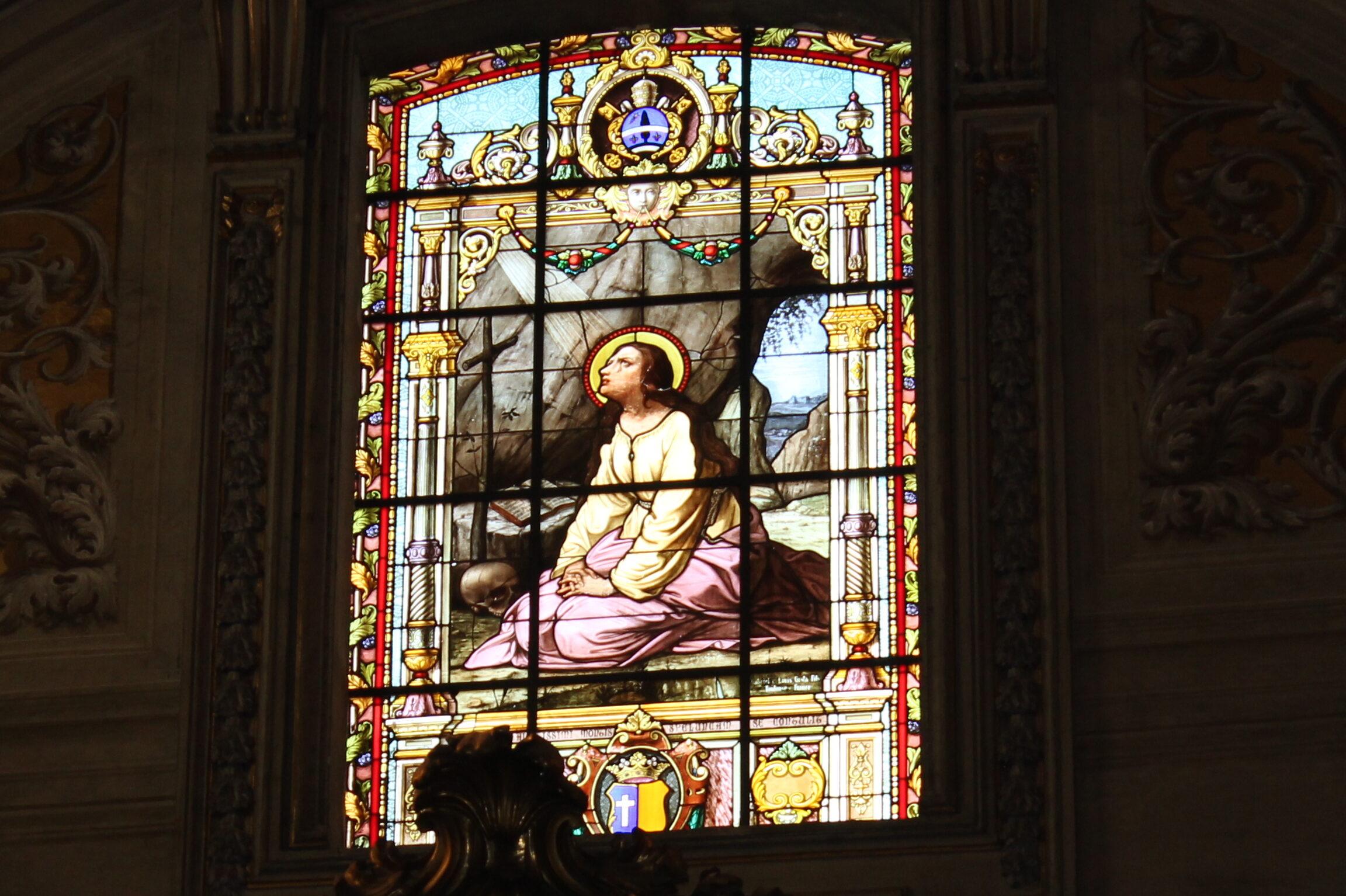 Maria Maddalena penitente di Sant'Eustachio