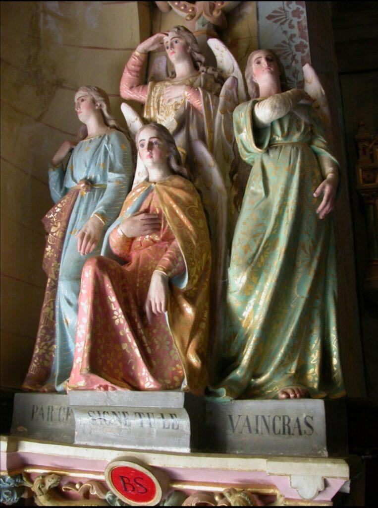 Quattro angeli sopra il demone