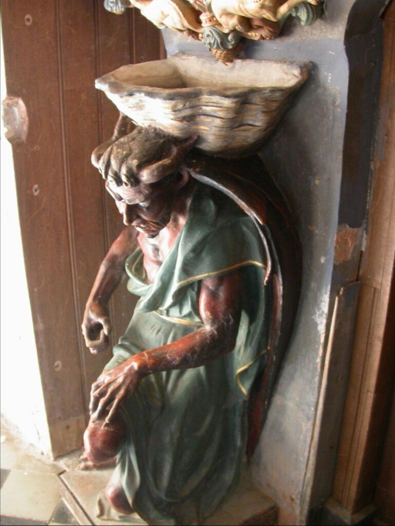 Il demone Asmodeo nella chiesa di Rennes-le-Château