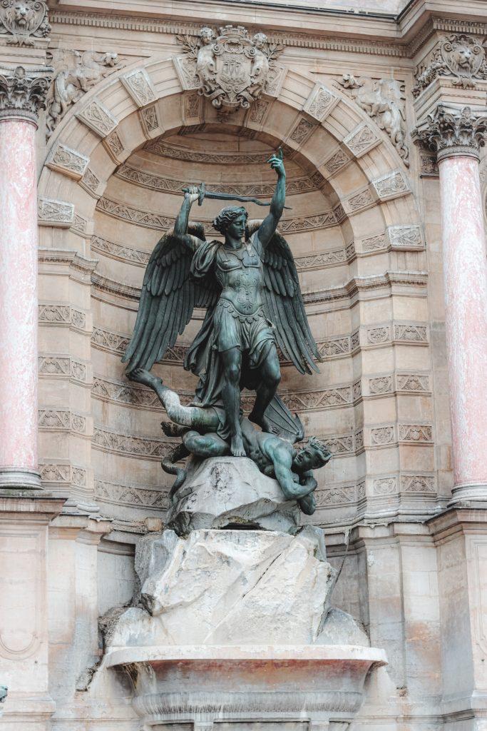 Arcangelo Michele e il Demonio.