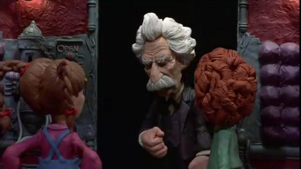 Mark Twain sembra preoccupato.