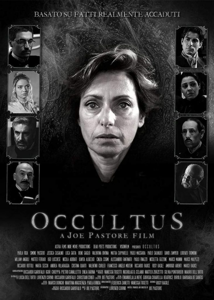 Poster Film Occultus. Foto di Giorgio Pastore.
